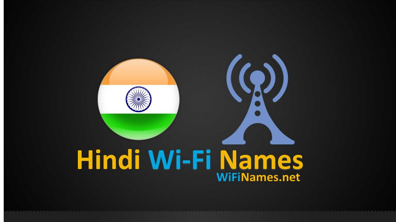 Hindi Wi-Fi Names