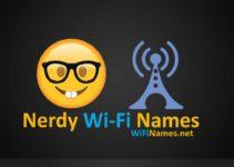 Nerdy Wi-Fi Names