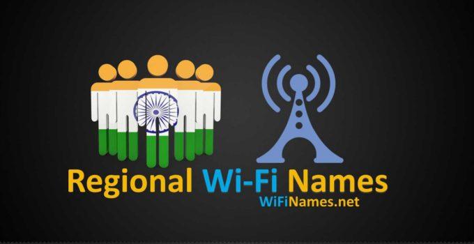 Regional Wi-Fi Names